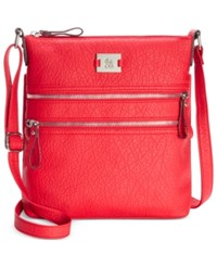 Styleandco. Style Co. Veronica Crossbody Only At Macy's Chinese Red