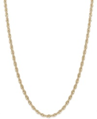 Macy's Rope Chain Necklace In 14K Gold 1 4 5Mm