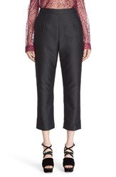 Isa Arfen Women's 'Classic' Cotton And Silk Crop Pants