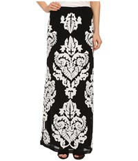Kas Najma Maxi Skirt Black White Women's Skirt