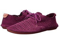 Sanuk Bianca Perf Dusty Boysenberry Women's Slip On Shoes Pink