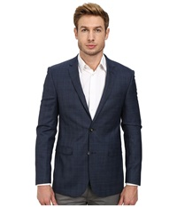 Moods Of Norway Stein Tonning Suit Jacket 151237 Mid Blue Men's Jacket