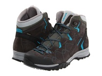 Lowa Focus Gtx Qc Ws Anthracite Turquoise Women's Shoes Gray