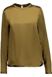 Tom Ford Satin Top Army Green