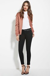 Forever 21 Low Rise Ankle Jeans Black