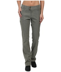 Royal Robbins Herringbone Discovery Strider Bootcut Pants Everglade Women's Casual Pants Green