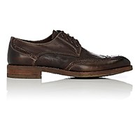 John Varvatos Men's Jacob Wingtip Bluchers Beige