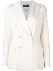 Rossella Jardini Double Breasted Jacket White