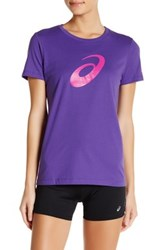 Asics Short Sleeve Tee Purple