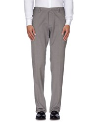 Officina 36 Trousers Casual Trousers Men Grey