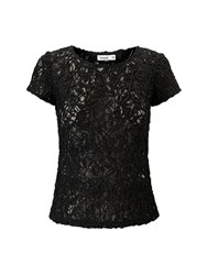 Lavand Embroidered Top Black