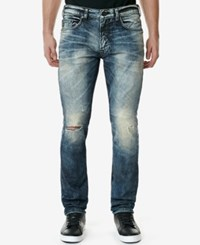 Buffalo David Bitton Men's Max X Skinny Fit Jeans Dirty And Vintage
