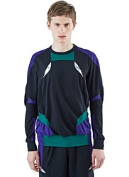 Adidas By Kolor Climachill Hybrid Long Sleeved Top Black