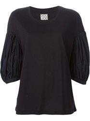 Douuod 'Francia' Puff Sleeve Top