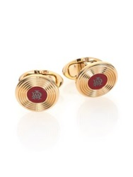 Dunhill Radial Resin Cuff Links Gold