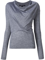 Derek Lam Cowl Neck Jumper Grey
