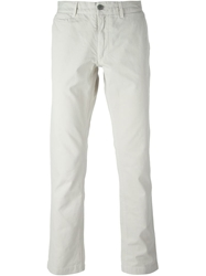 Woolrich Chino Trousers Nude And Neutrals