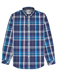 Joules Lyndhurst Slim Fit Tartan Shirt Blue