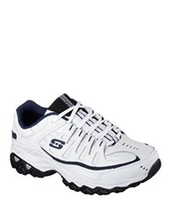 Skechers Afterburn Memory Fit Sneakers White