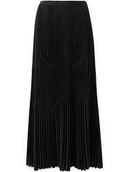Barbara Casasola Pleated Skirt Black