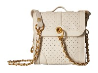 Sarah Jessica Parker Grove Special Delivery Ivory Leather Handbags Beige