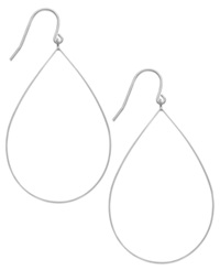 Studio Silver Sterling Silver Large Open Pear Drop Earrings