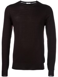 Paolo Pecora Crew Neck Jumper Red