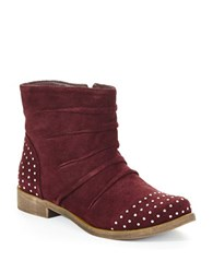 Kenneth Cole Reaction Sup Gurrl Booties Burgundy