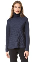 Lela Rose Turtleneck Pullover Smoke