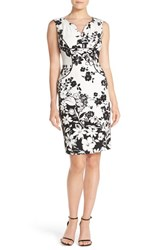Women's Adrianna Papell Floral Print Sheath Dress