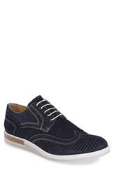 Men's Bugatchi 'Sondrio' Wingtip Blue