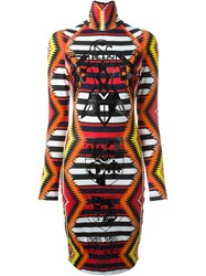 Ktz Aztec Print Dress