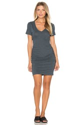 Lanston Ruched T Shirt Dress Slate
