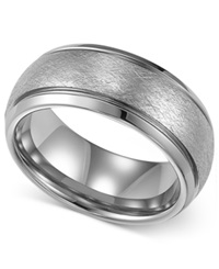 Macy's Triton Men's Tungsten Ring Wedding Band