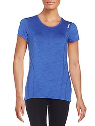 Reebok Pop Dynamic Tee Dazzling Blue