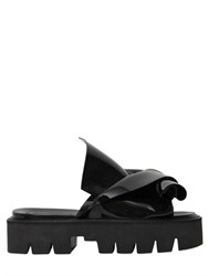 N21 Loves Kartell 40Mm Bow Shape Rubber Slide Sandals
