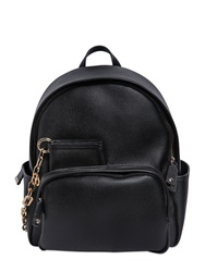 Dsquared Coated Canvas Backpack Black