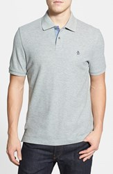 Original Penguin Men's 'Daddy O' Pique Polo Rain Heather