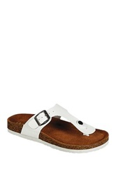 Refresh Leo Thong Sandal White