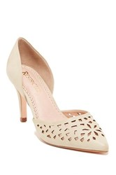 Restricted Jemma Lacer Cut Pump Brown