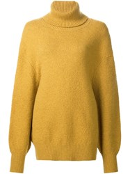 Adam By Adam Lippes Turtleneck Jumper Yellow And Orange