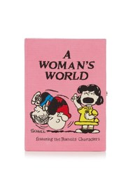 Olympia Le Tan A Woman's World Book Clutch Pink Multi