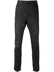 Neuw 'Ray' Tapered Jeans Black