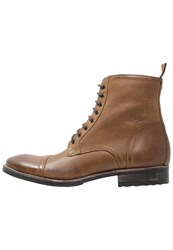 Frank Wright Marris Laceup Boots Cognac