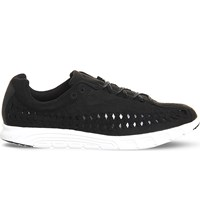 Nike Mayfly Cut Out Suede Trainers Black