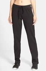 Trina Turk Quilted Track Pants Black