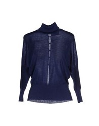 Class Roberto Cavalli Turtlenecks Dark Blue