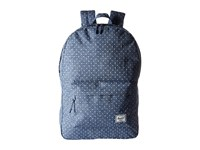 Herschel Classic Limoges Crosshatch White Polka Dot Backpack Bags Blue