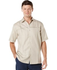 Cubavera Pintuck Paneled Shirt