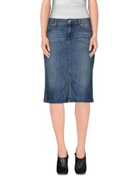 Escada Sport Denim Denim Skirts Women Blue